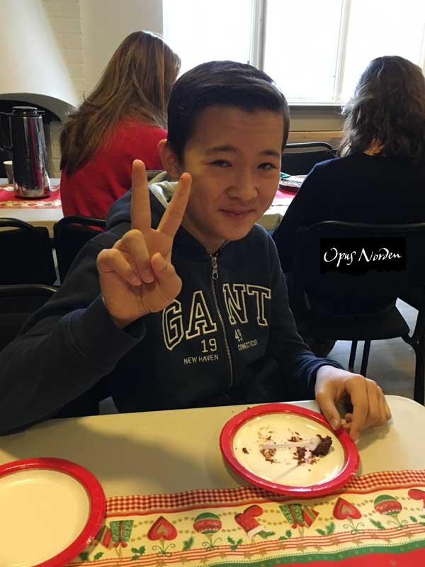 Filip har godkänd tårtorna