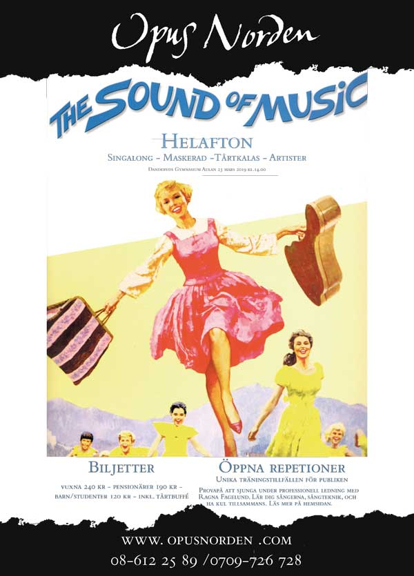 Sound of Music är en fantastisk musikal