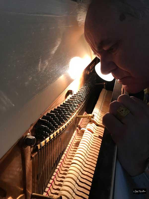 Opus Norden undervisar även i piano