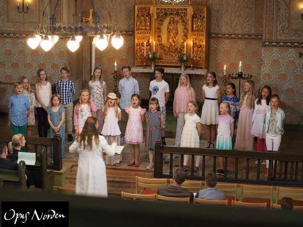 Från Vårkonsert 2016 i Djursholms kapell