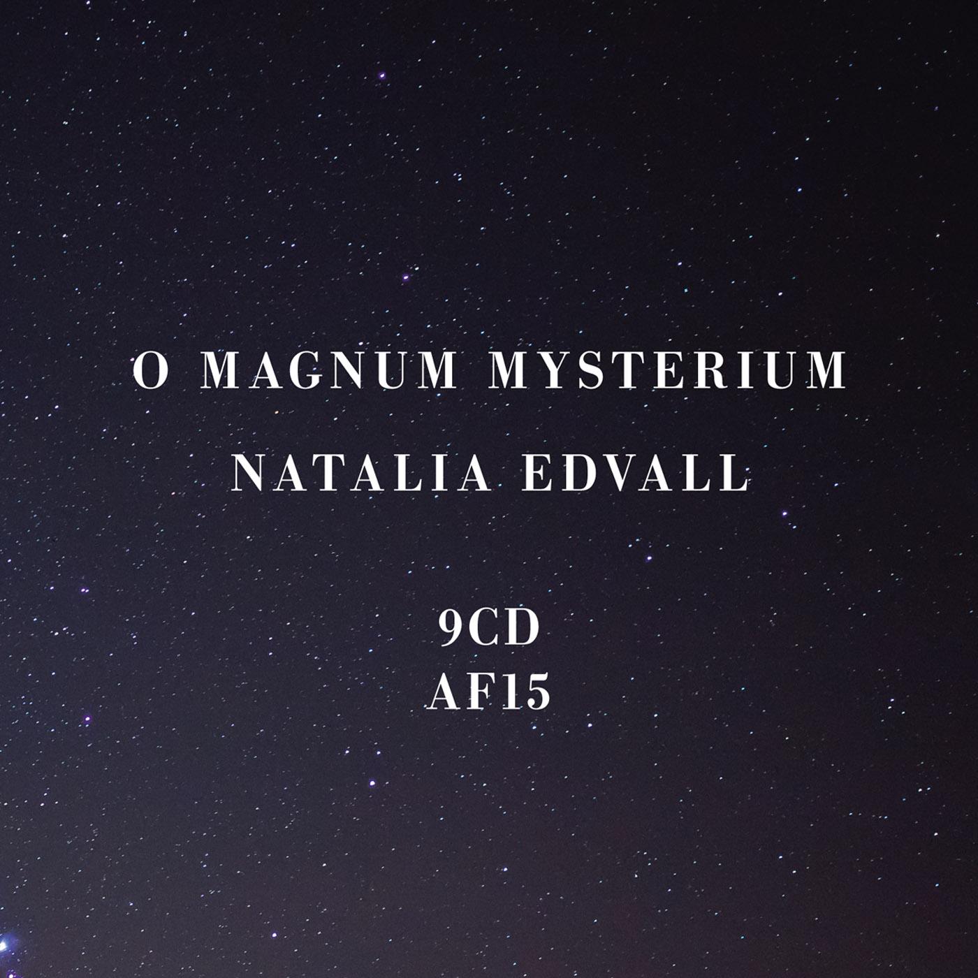 O magnum mysterium hittar du även på Cd baby