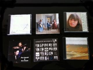Skivor från opus Nordens artister